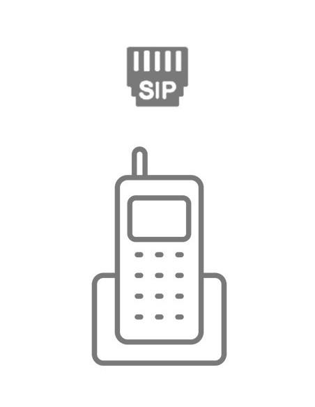 Téléphone IP sans fil (SIP)